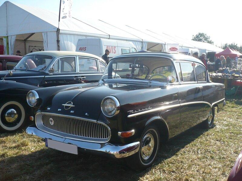 OPEL Rekord P1 berline 2 portes découvrable 1960 Lipsheim (1)