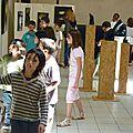 visite de l'école de st Sardos