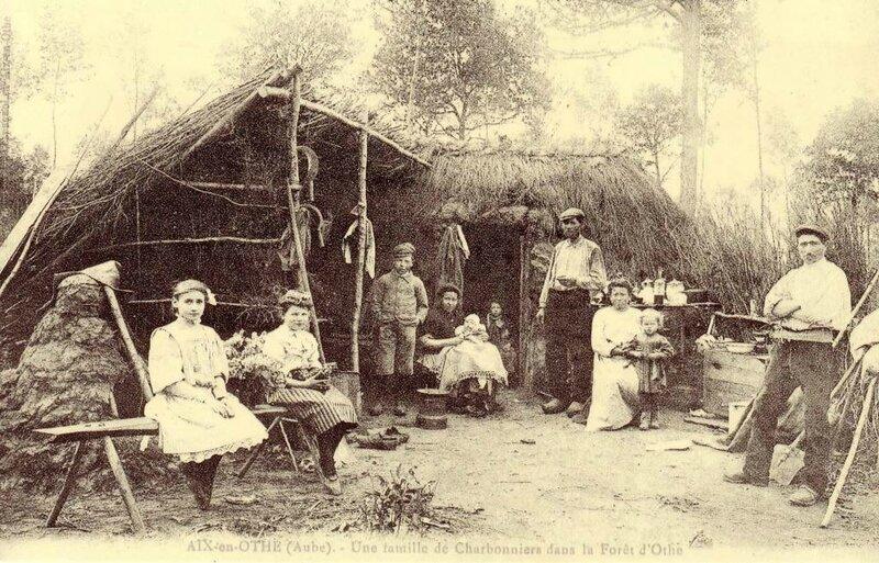 Famille de charbonnier