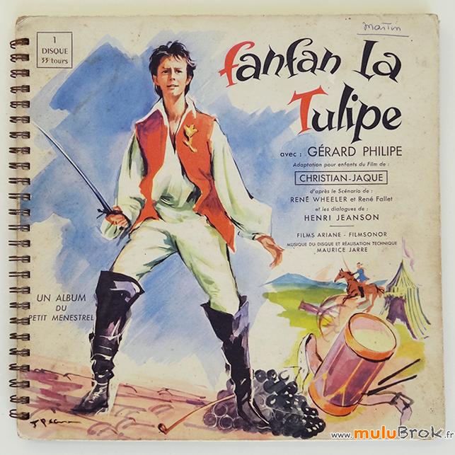 FANFAN-LA-TULIPE-LIVRE-DISQUE-MENESTREL-1-muluBrok-Vintage