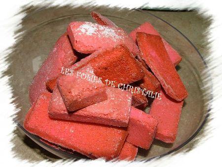 Galette des rois biscuits roses 2