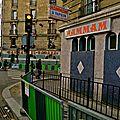 Dans les rues de Barbès.