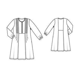 BURDA 125 (05-2010) Robe 102 2