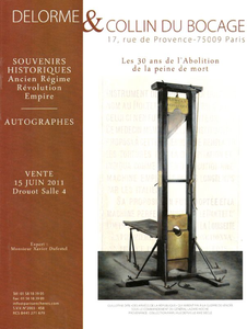 Guillotine Drouhot