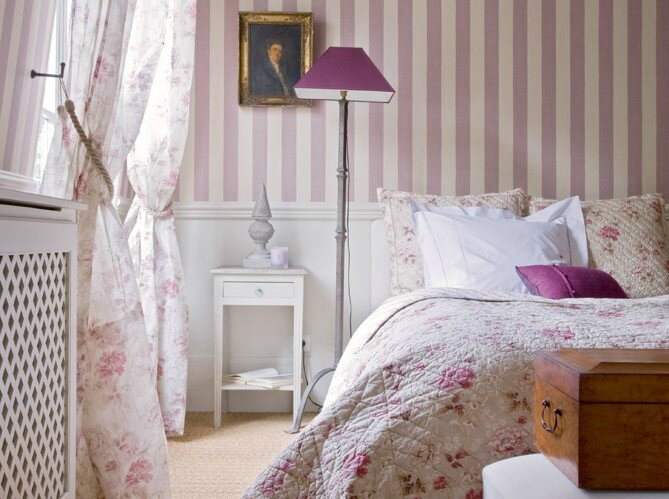 chambre photo de shabby chic une petite pause. Black Bedroom Furniture Sets. Home Design Ideas