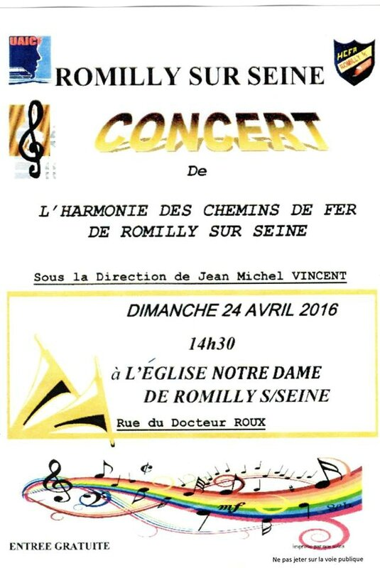 CONCERT 2016 ROMILLY