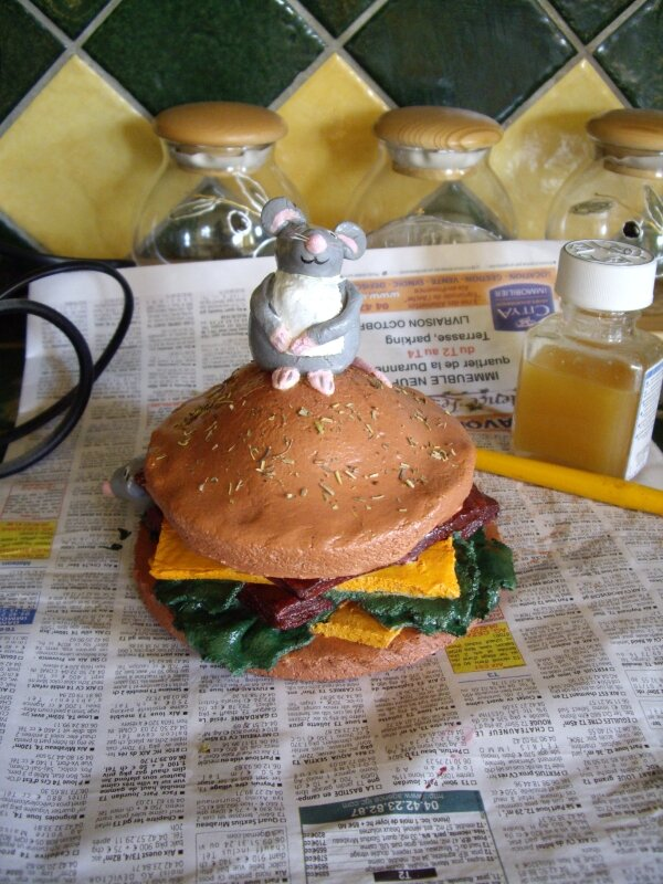 Hamburger souris