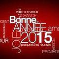 Bonne année 2015 !!