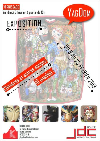 YagDom - Expo - Jdc Galerie