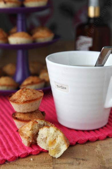 recette financiers orange confite cointreau 002a LE MIAM MIAM BLOG