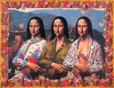 Mona_Lisa_in_China_by_Ji_Wenyu