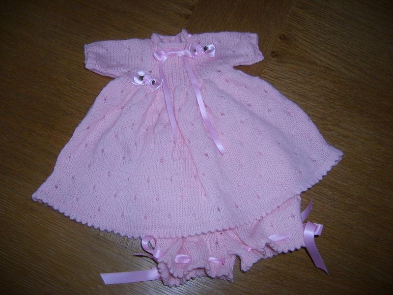 Ensemble robe et panty