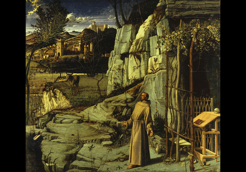 Giovanni Bellini (c. 1430–1516), St. Francis in the Desert, c. 1480