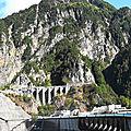 Le barrage de kurobe, coeur de l'activité hydro-électrique