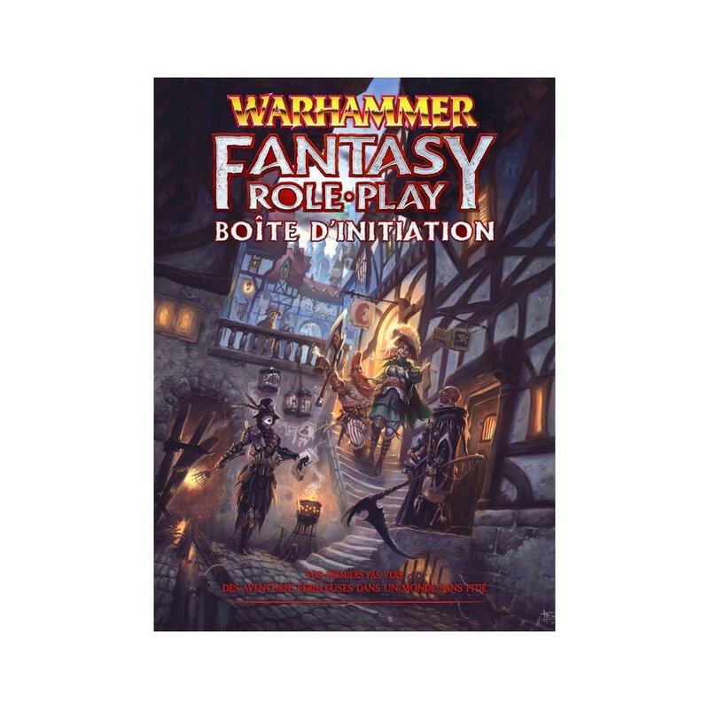 Boutique jeux de société - Pontivy - morbihan - ludis factory - Warhammer fantasy boite d'initiation
