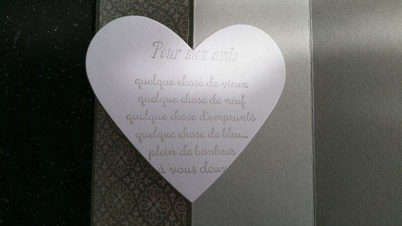 20c Carte pour une amie qui se marie