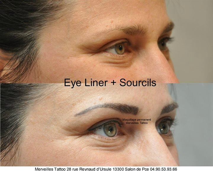 tatouage eye liner, sourcils, maquillage permanent