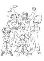 Coloriage Dragonball Z Gt Id Coloriage
