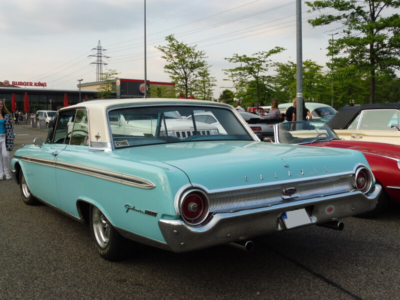 FORD Galaxie 500XL 2door Club Victoria 1962 Offenbourg (2)