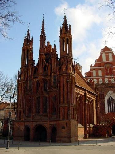 Eglise Ste Anne, Vilnius