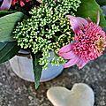 Bouquet d'échinacées