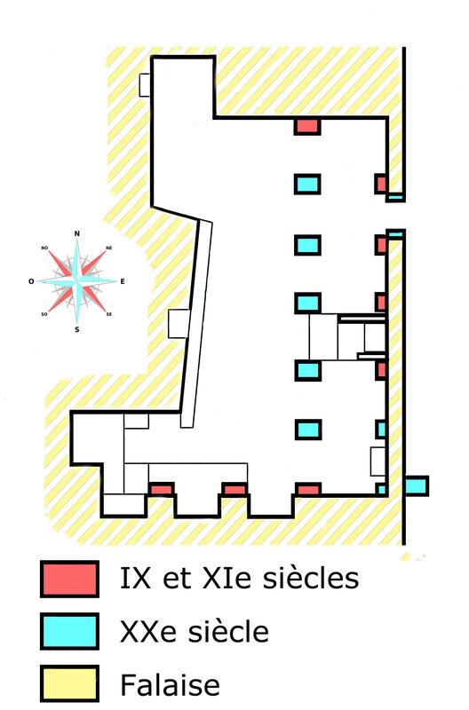 Grottes de Jonas plan 1a
