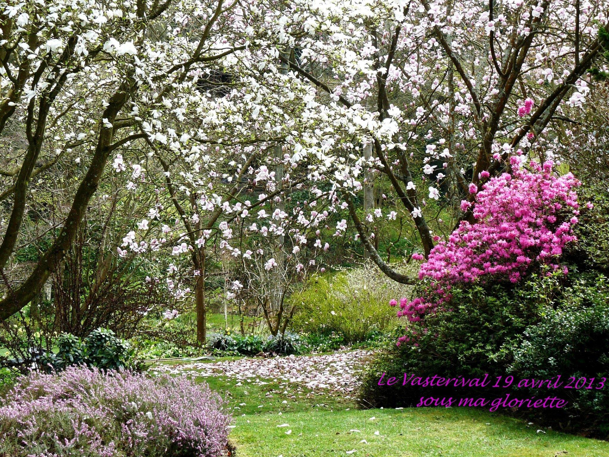 Vasterival au printemps photo de mon coup de coeur le jardin de la princesse strudza sous - Les jardins de la lagune oualidia sylvie ...