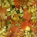 Salade exotique au fenouil
