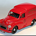 Morris minor van royal mail ...