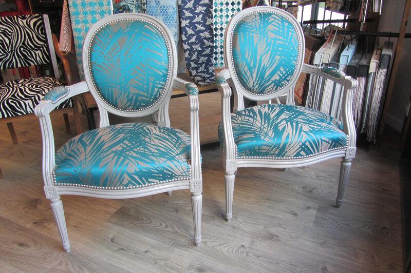 tapissier à Brest réfection de fauteuils