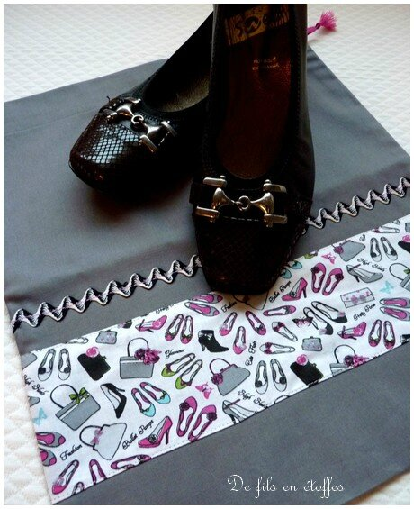 pochon chaussures 1
