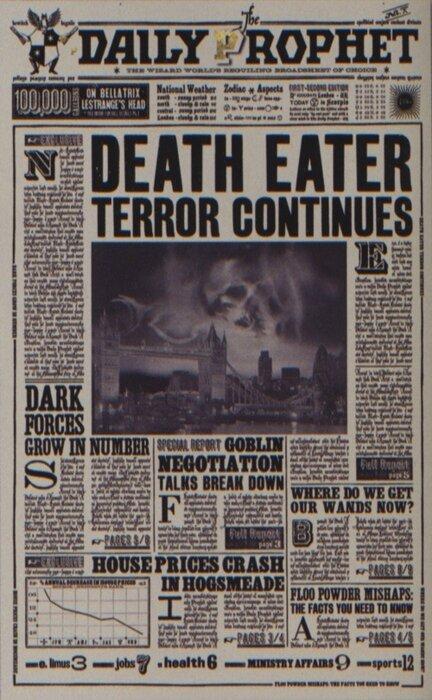 Gazette du Sorcier - Créations d'Objets Harry Potter