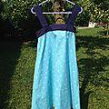 Robe à bretelles Butterick (taille 36 très modifiée)