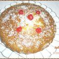 Gâteau coco-cacahuète