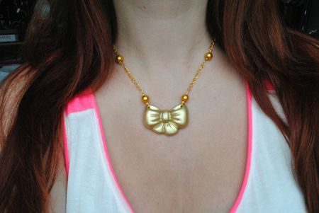 collier noeud or (11)