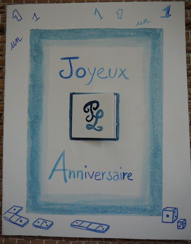 Carte Anniv PL 1 an