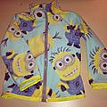 minions fleece jacket