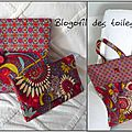 TOTEBAG BARIOLE + TROUSSE