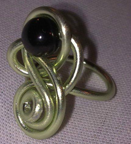 parure (33-1) vert-noir