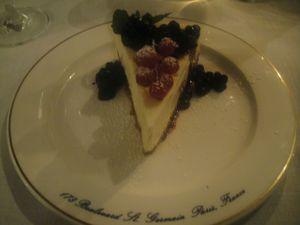 Ralph's Cheese cake J&W