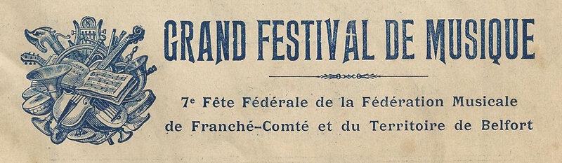 Livret Belfort Inauguration Monumt 3 Sièges 1913 p0 R1