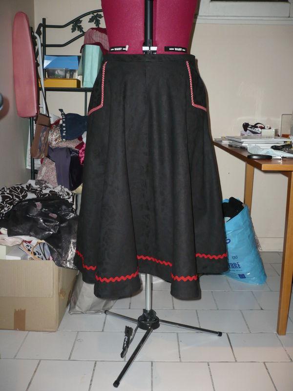 Une jupe vintage pour ma maman