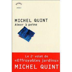 Aimer à peine Michel Quint Lectures de Liliba