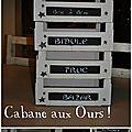 Des cagettes transformées en boîtes à rangement pour mon atelier !