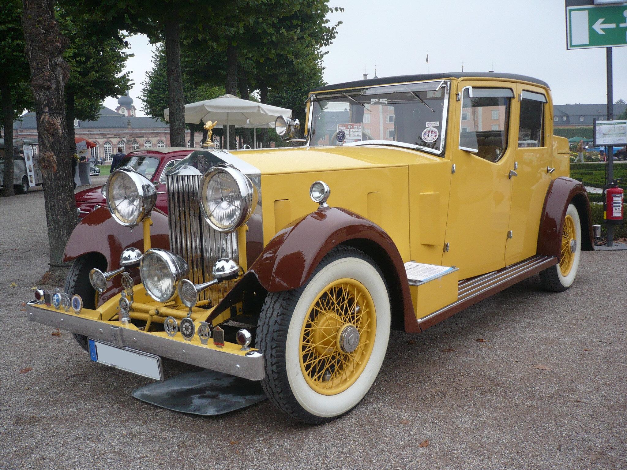ROLLS ROYCE 20-25HP Wylder Hunting Car 1933 Schwetzingen (1)