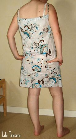 robe tunique grossesse dos