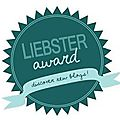 Liebster award : wahouuu!
