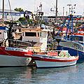 Olhão et son port de pêche