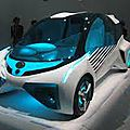 Toyota: la fcv plus attire les regards !