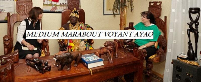 Maitre medium AYAO grand voyant africain